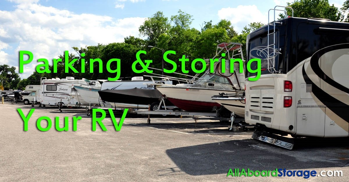 Parking & Storing Your RV