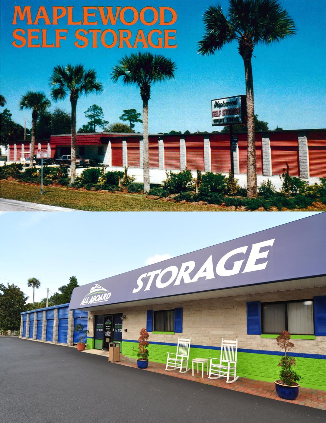 Port Orange Storage Historical