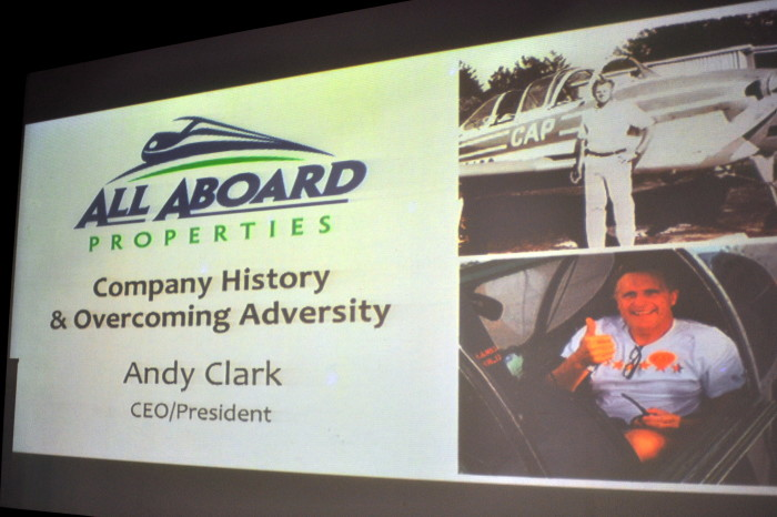 Andy Clark Presentation - Company History & Overcoming Adversity