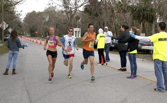 2017 Daytona Beach half marathon participants