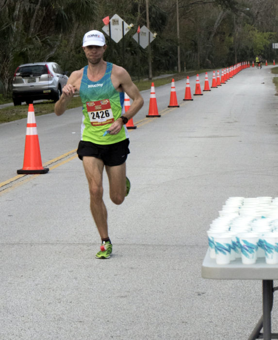 Daytona Beach Half Marathon - First to pass