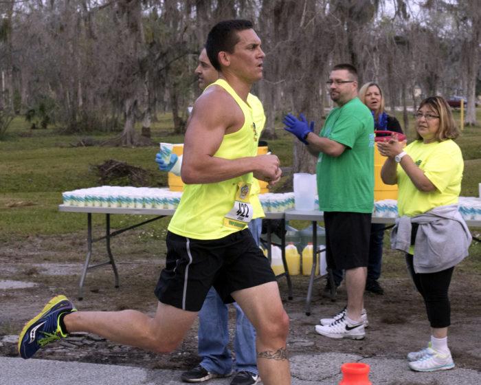Daytona Beach half marathon runner